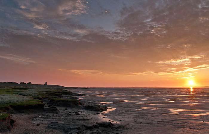 Wattenmeer (Waddenzee) in den Niederlanden