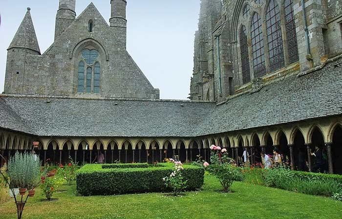 Die Abtei Mont-Saint-Michel